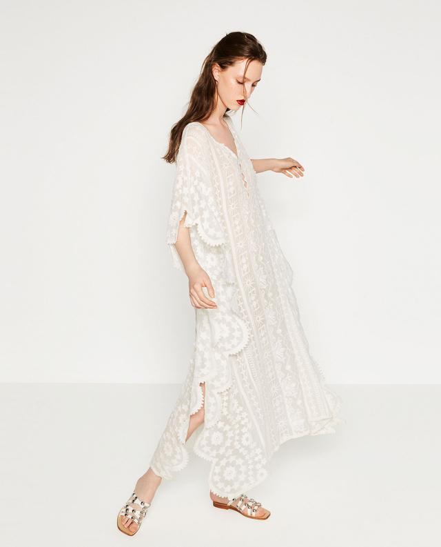 Zara Embroidered Kaftan