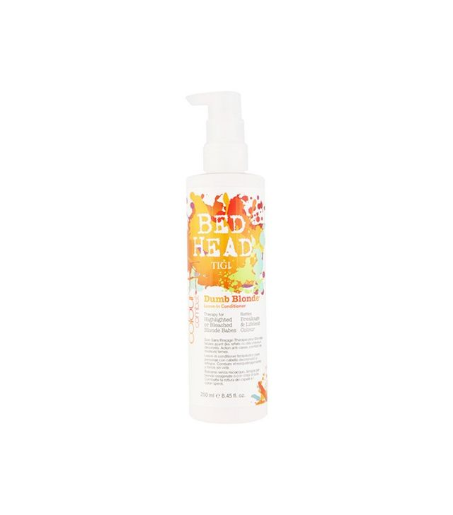 Tigi Bed Head Dumb Blonde Color Combat Leave-In Conditioner