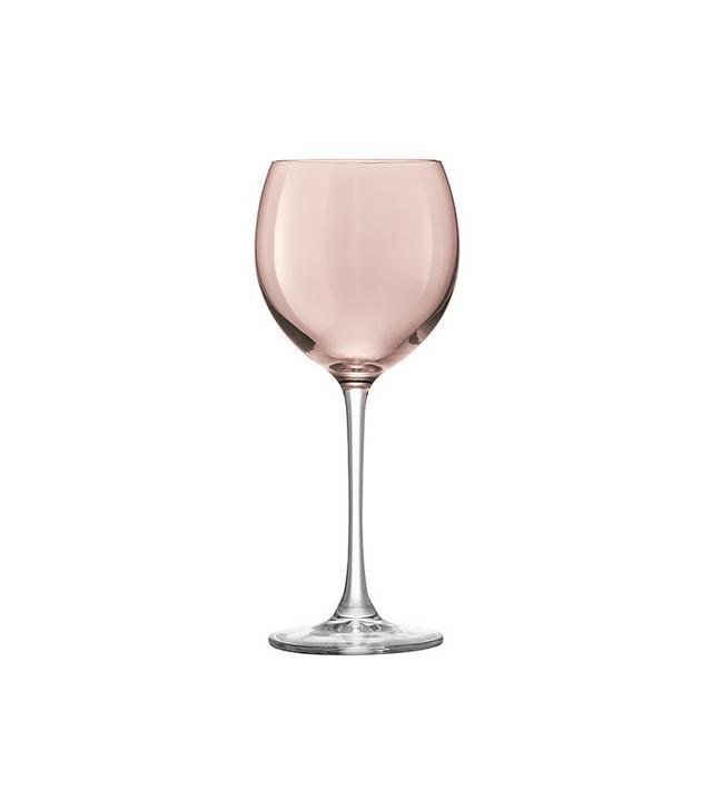 LSA International Set of 4 Polka Assorted Wineglasses