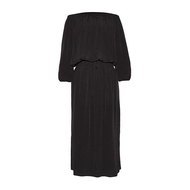 Who What Wear Woven Bardot Dress