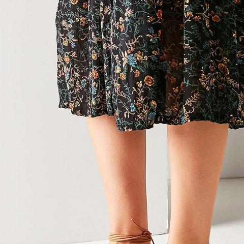 Sophie Leather Tie Sandal