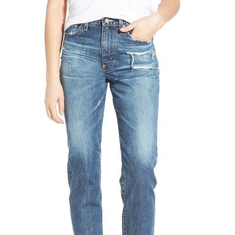 The Phoebe High Rise Slim Straight Leg Jeans