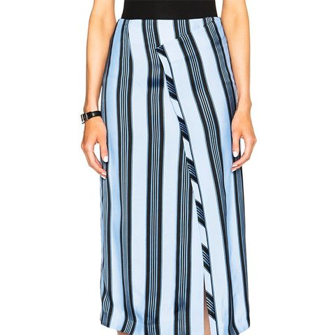 Karlis Stripe Skirt