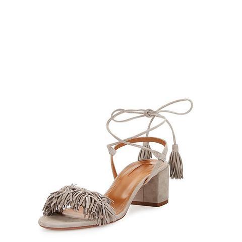 Wild Thing Suede Sandals