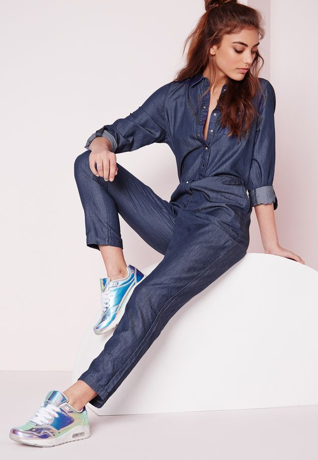 Missguided Lightweight Boiler Suit