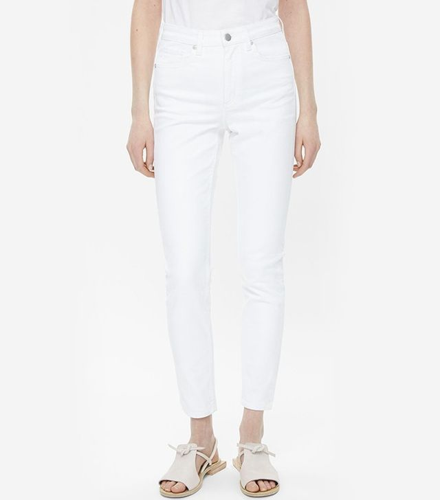 COS Slim Fit Cropped Jeans