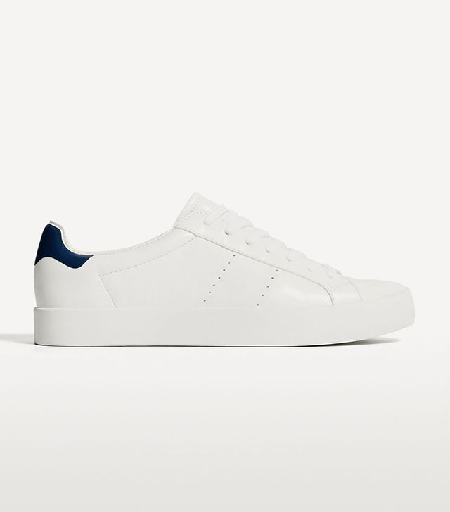 Zara Basic White Sneakers