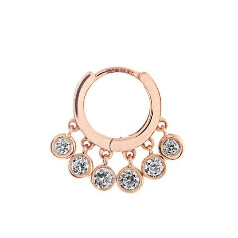 Diamond & Rose-Gold Earring
