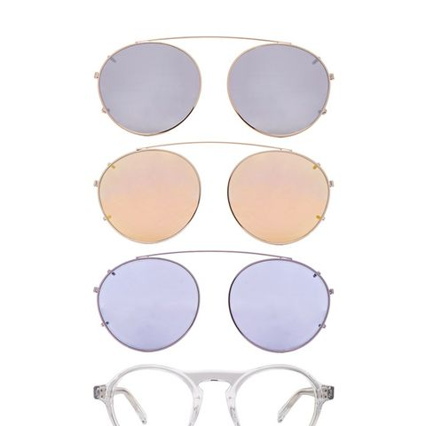 Westward Leaning DYAD 8 Sunglasses With Interchangeable Clips