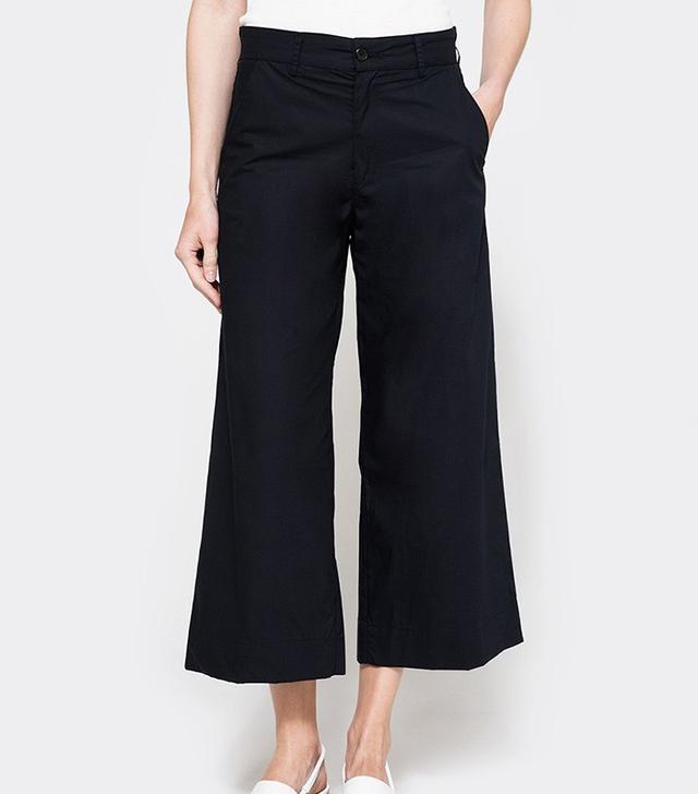 Need Wide Leg Trouser in Navy