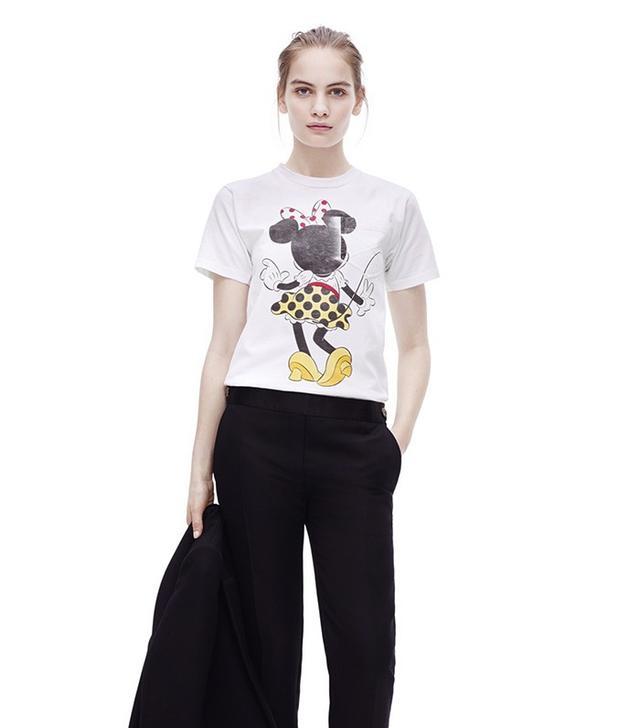 Victoria Beckham Minnie Motif T Shirt
