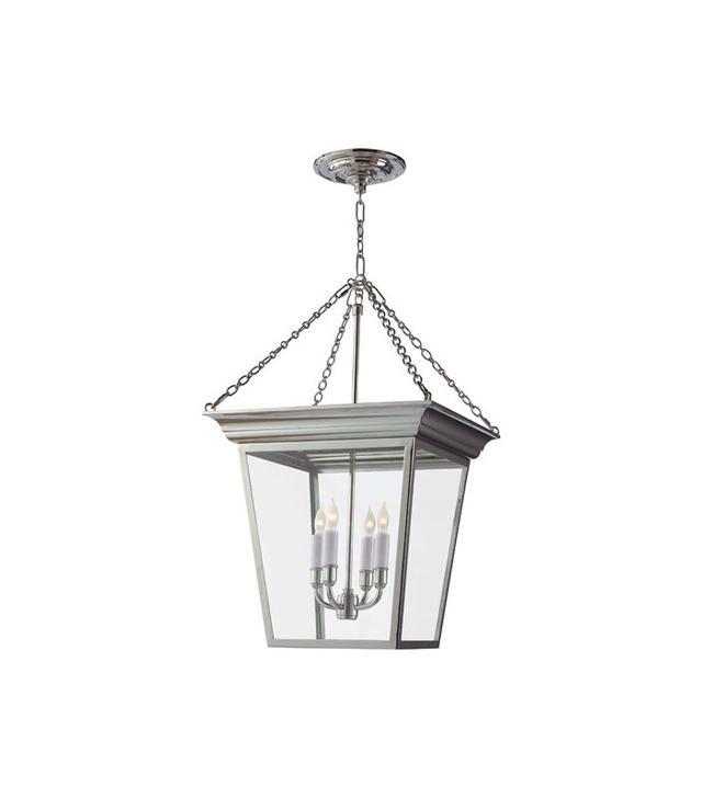 Visual Comfort E.F. Chapman Cornice Small Hanging Lantern