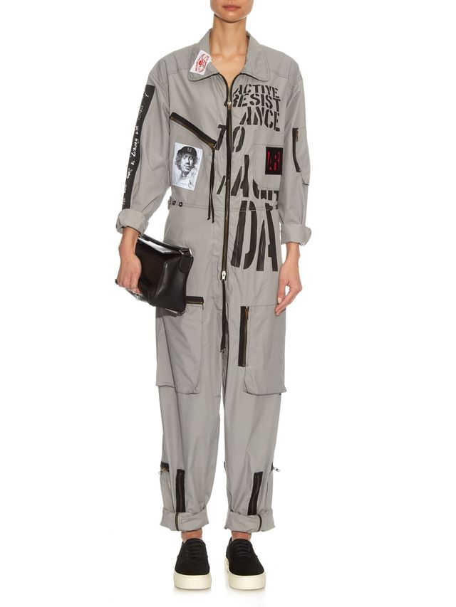 Vivienne Westwood Anglomania Joan AR Jumpsuit