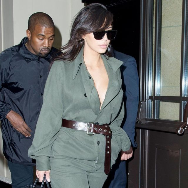 Kim Kardashian Tries One of Kate Moss's Favourite Trends