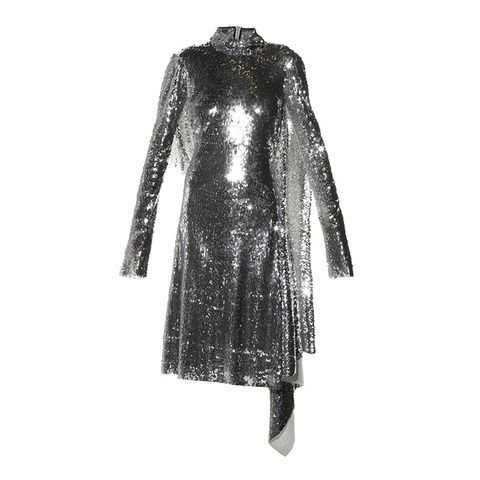 Open-Back Sequin Dress