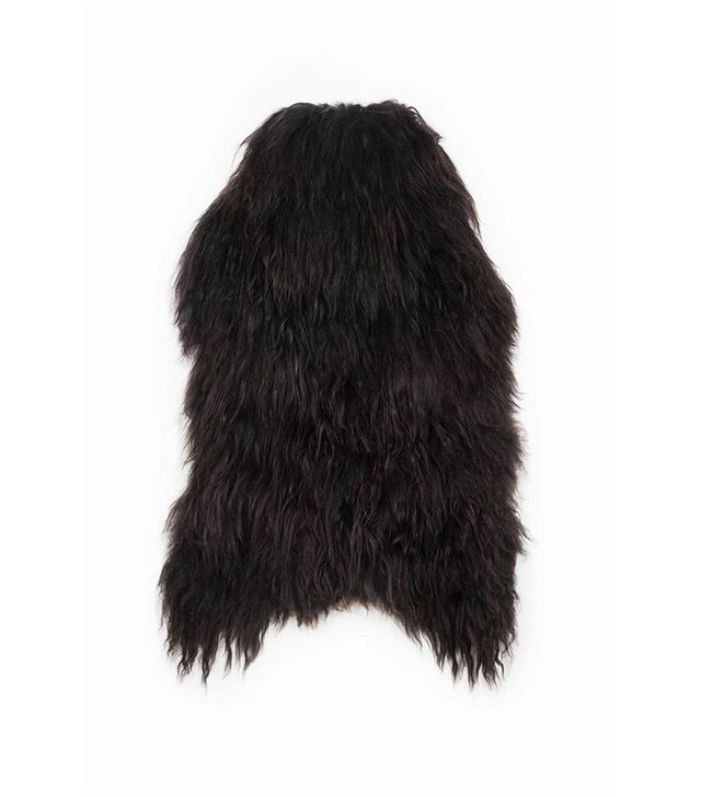 Black Sheep Natural Black Icelandic Sheepskin