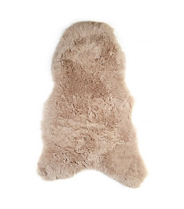 The Organic Sheep Sheepskin Throw