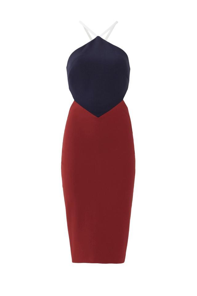 Elizabeth and James Colorblock Riza Dress