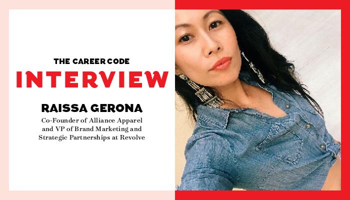 career code raissa gerona of revolve