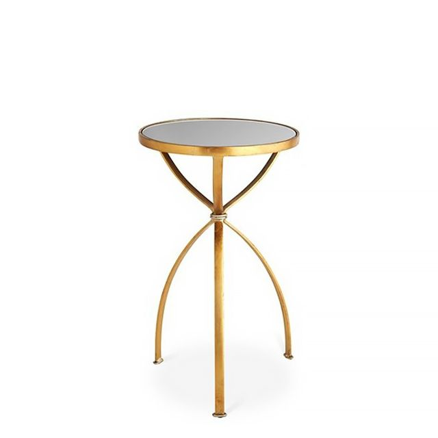 One Kings Lane London Mirrored Side Table, $179