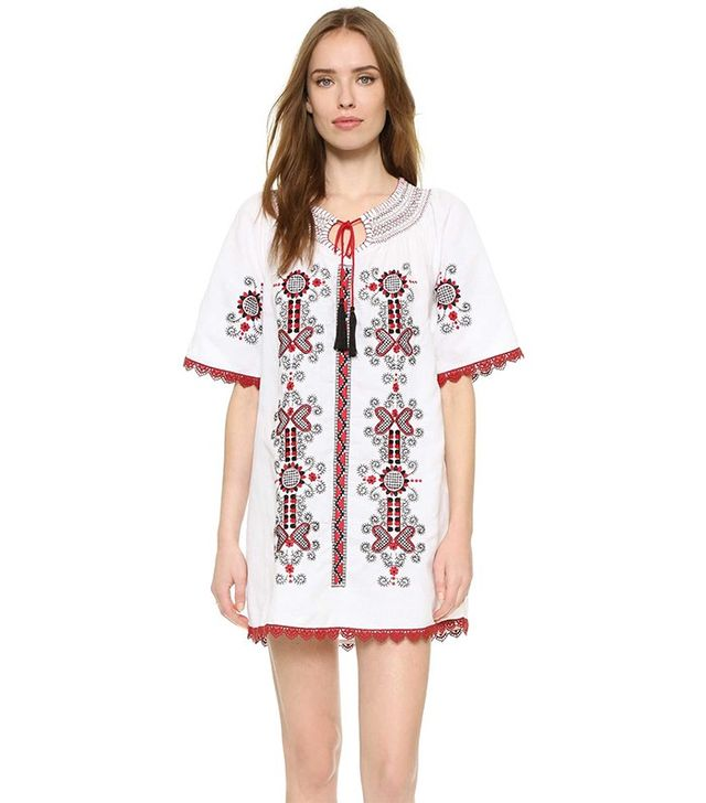One by Indie Bella Embroidered Dress