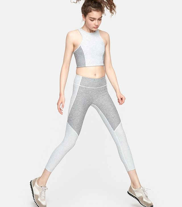 Outdoor Voices 3/4 Two-Tone Warmup Legging