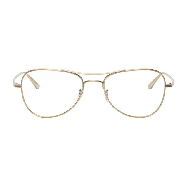 Oliver Peoples x The Row Gold Executive Optical Glasses