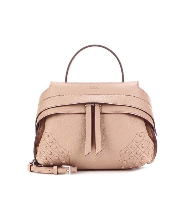 Tod's Micro Wave Leather Tote