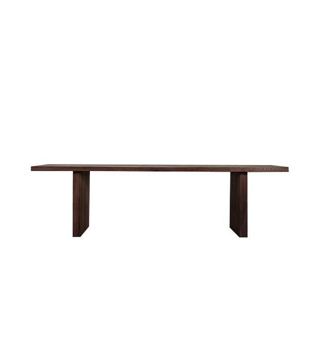 Restoration Hardware Reclaimed Russian Oak Plank Rectangular Dining Table