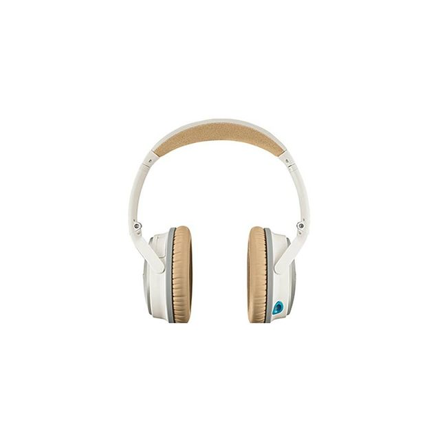 Bose QuietComfort 25 Acoustic Noise Cancelling Headphones for Apple Devices (White)