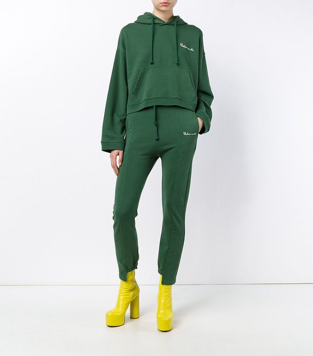 Vetements Cut-Out Cuff Sweat Pants
