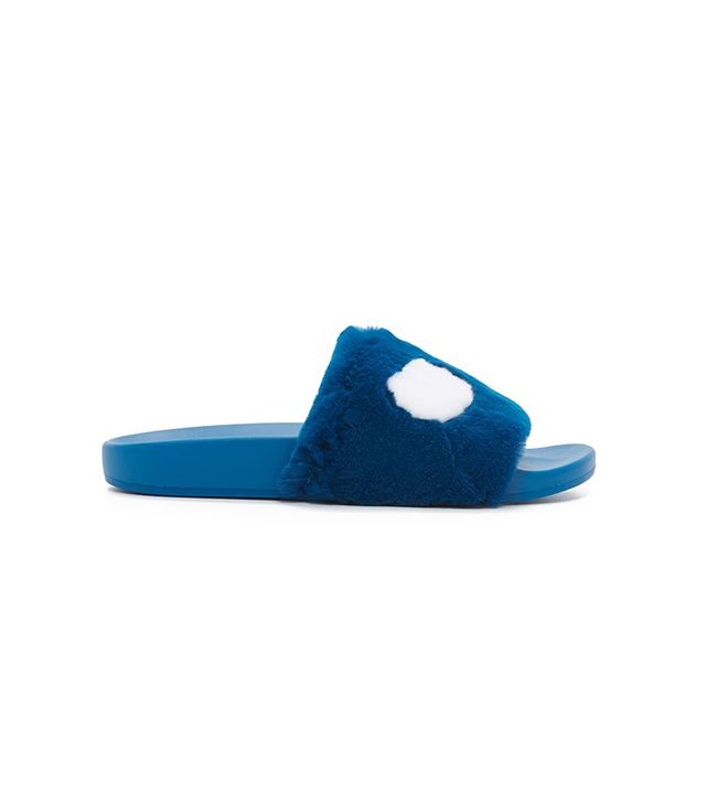 Marc by Marc Jacobs Dot Fur Slides