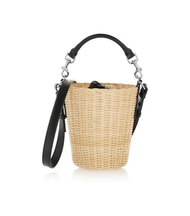 Saint Laurent Lanier Small Bamboo Shoulder Bag