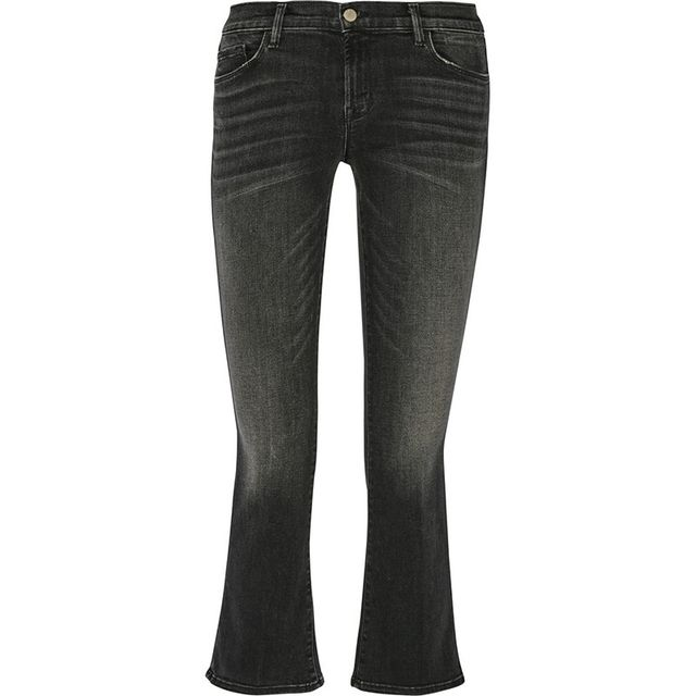 J Brand Cropped mid Rise Selena Jeans