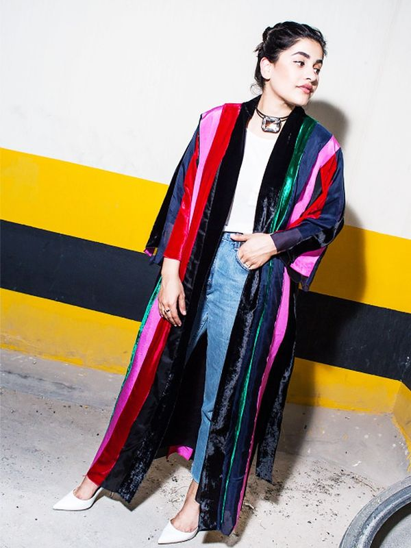 Summer Outfit Idea #2: Replace Your Coat with a Kimono