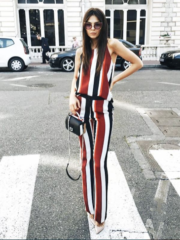 Summer Outfit Idea #7: Do Double Stripes