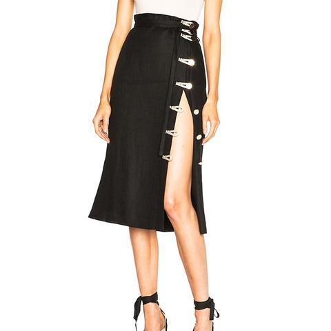 Hiroki Linen Skirt