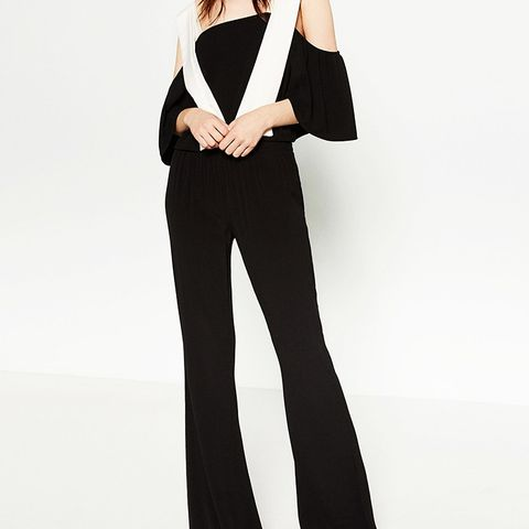 Mid-Rise Flare Trousers