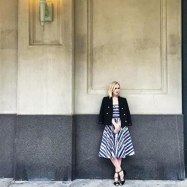 WHO: Jane Keltner de Valle, fashion news director atGlamour