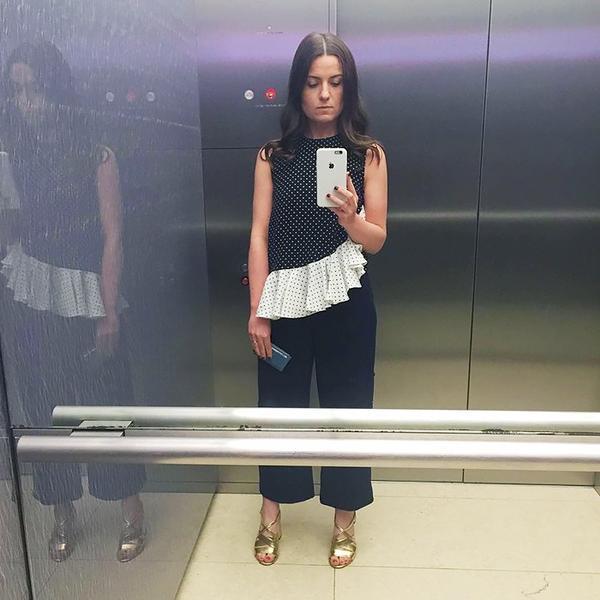 WHO: Carolina O'Neill, fashion news editor atMarie Claire