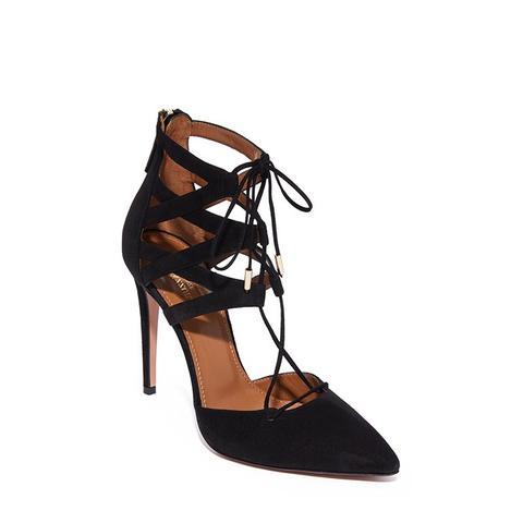 Belgravia Lace Up Heels