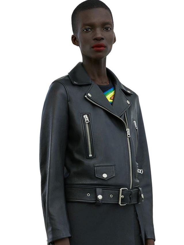 Acne Studios Mock Black Jacket
