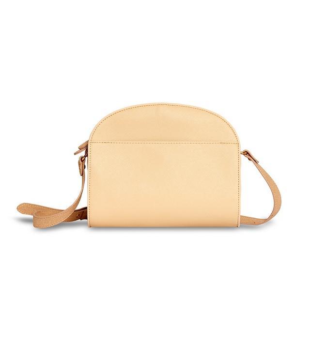 Who What Wear Minimal Saddle Bag