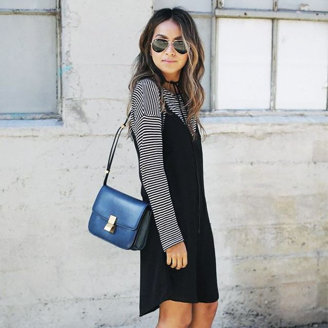 3 Flattering Ways to Wear a Slip Dress