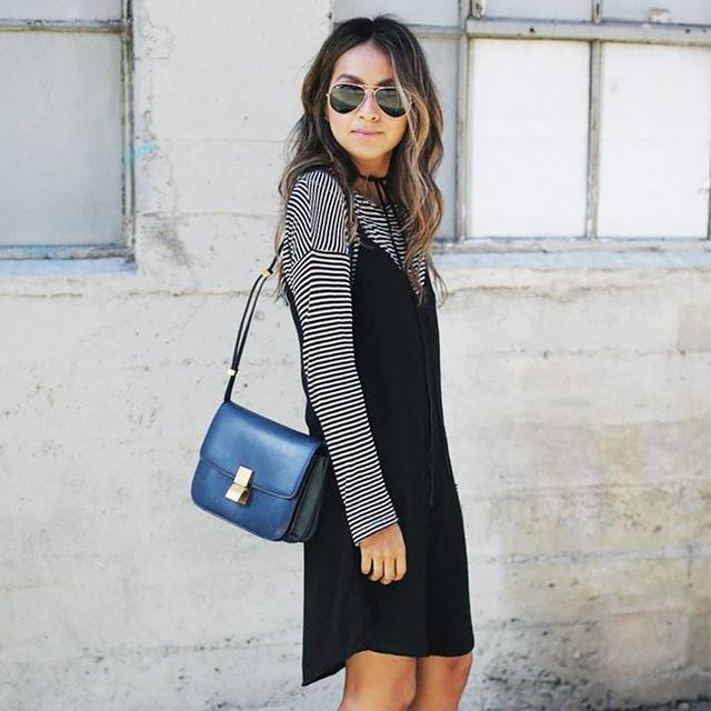 3 Flattering Ways to Wear a Slip Dress
