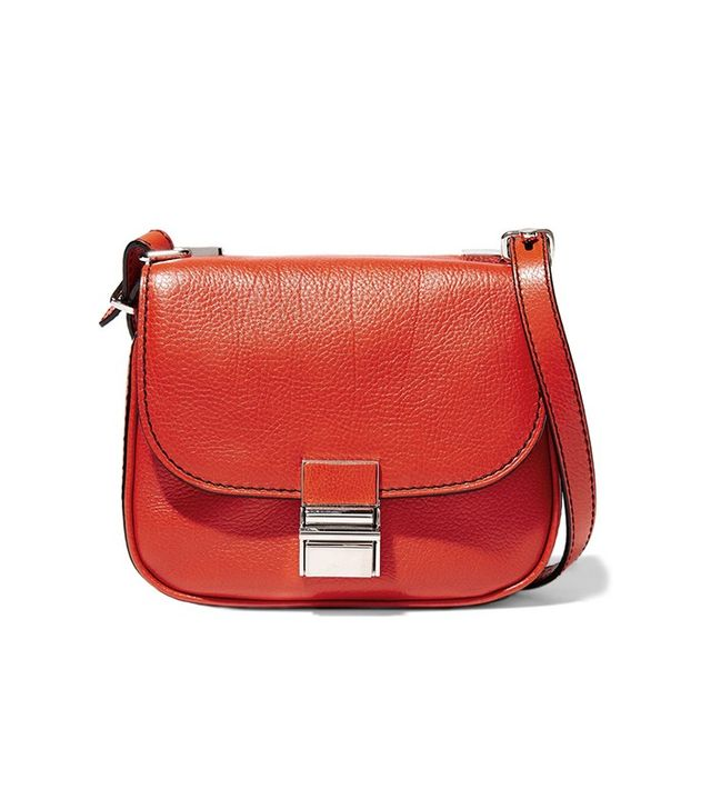 Proenza Schouler Kent Tiny Textured-Leather Shoulder Bag