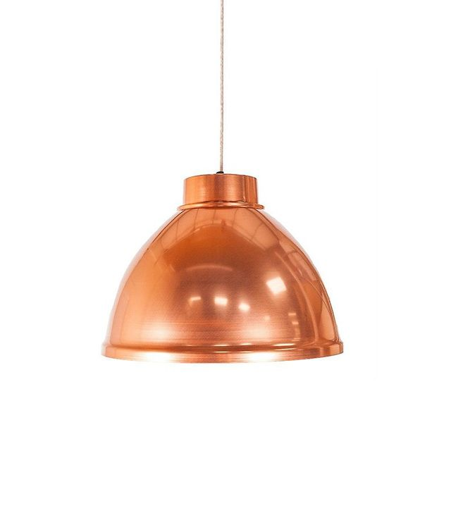 Fruugo Giant Copper Dome Pendant Light