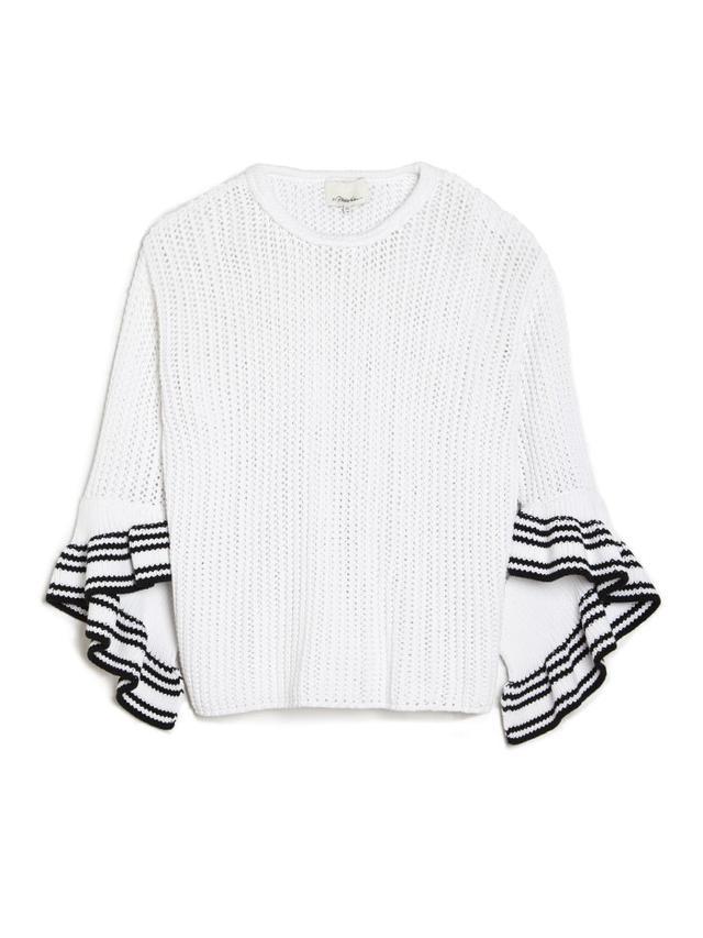 3.1 Phillip Lim Open Net Stitch Sweater