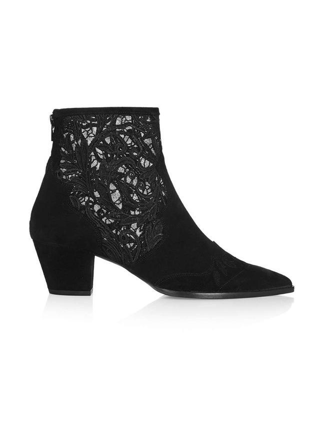 Topshop Alegra Lace Ankle Boots