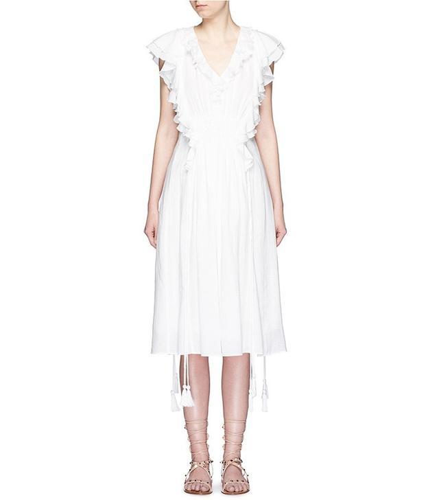 Apiece Apart San Rafael Ruffle Dress